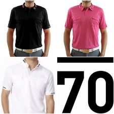 New SUB70 Tour SubSeventy Mens Bernhard PolarDry Performance Golf  Polo Shirt T