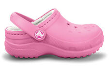 Crocs Boundless Lined Winter Clog Pink Girls 10-11, 1  Perfect for Daycare