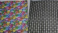 World PEACE Sign Print Headwear Bandana Bandanna Handkerchief Neck SCARF