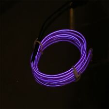 3M Colorful Flexible EL Wire Tube Rope Neon Light Glow Car Party Decor F5