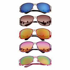 Fashion Metal Frame Multi Color Lens Ladies Woman Sunglasses UV400 Eyewear  F5