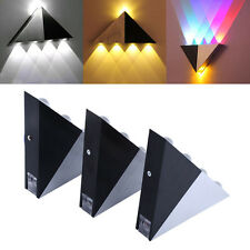 Triangle 5W LED Lamp Wall Spot light Sconce Fixture Path Sconce Lighting Decor W