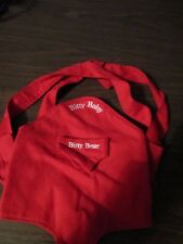 Bitty Baby Red Back Pack/ Carrier for Bitty Bear