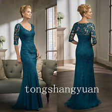 Mermaid Lace Applique Mother Of The Bride Dresses For Women Wedding Formal Gowns