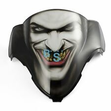 Airbrushed Joker Jester Windscreen Windshield For Suzuki GSXR Fairing motorcycle