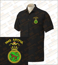 HMS Artful Embroidered Polo Shirts