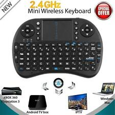 Mini Wireless Keyboard 2.4G with Touchpad Handheld Keyboard for PC Android TV F6