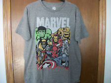 Marvel  Avengers Large Cast Hulk Iron man X-Men  NWT S-2XL Mens T-Shirt