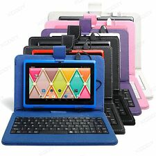 "XGODY 7""Inch Quad Core 16GB Android 4.4 Tablet PC wifi HD Bundled Keyboard Case"
