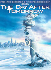 The Day After Tomorrow (DVD, 2004, Full Screen Edition Plays Perfect Great Cond