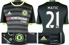 *16 / 17 - ADIDAS ; CHELSEA 3rd KIT SHIRT SS / MATIC' 21 = KIDS SIZE*