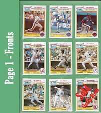 Gary Carter + MORE 1986 Drakes BIG HITTERS 6th ANNUAL Series of 37 - NM/MT