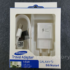 OEM Travel adapter Adaptive Fast Charging Cable For Samsung Galaxy Note4 5 S6 S7