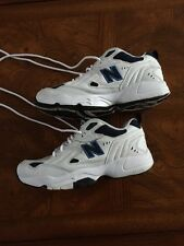 NEW BALANCE WX608WD Men's Cross Trainer  White / Navy Sz 10 Med. EXC CONDITION