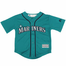 Seattle Mariners Majestic Toddler Official Cool Base Jersey - MLB