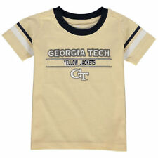 Georgia Tech Yellow Jackets Colosseum Newborn & Infant Tackle T-Shirt - NCAA