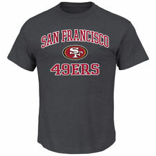 San Francisco 49ers Majestic Big & Tall Heart & Soul III T-Shirt - NFL