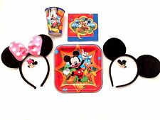 Minnie Mickey Mouse Ears Black Pink Birthday Party Package Birthday Party Favors