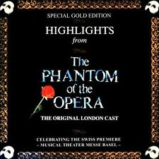 Original Cast - Highlights from the Phantom of the Opera CD Very Good]