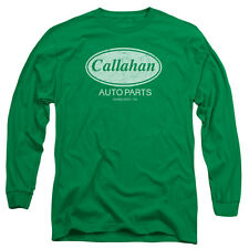 Tommy Boy Callahan Auto Mens Long Sleeve Shirt KELLY GREEN