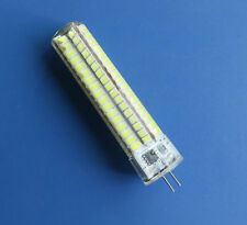 G4 10W LedS lightS 136SMD bulb lamp Silicone Dimmable 750lm 110/220V White/Warm