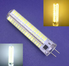 GY6.35 10W Leds lights 136SMD bulb lamp Silicone Dimmable 110/220V White/Warm