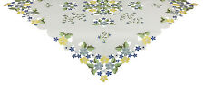 Xia Home Fashions Fancy Flowers Table Topper