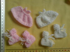 BABY CARD  Hand knitted New BABY Embellishments Booties jumpers bib