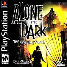 Alone in the Dark: The New Nightmare (PlayStation 1 PS1) BOTH Discs - Ships FAST