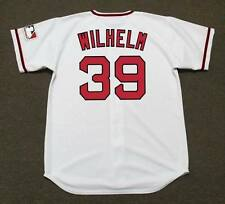 HOYT WILHELM California Angels 1969 Majestic Cooperstown Home Baseball Jersey