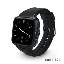Waterproof 3G WiFi Smart Watch Android Phone w/ Capacitive Touch Screen 512M+4GB