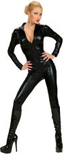 Sexy Catsuit Costume black new - Ladies Carnival Fancy Dress