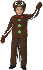 Small Gingerbread man Childrens fancy dress NEW - Girl Carnival Costume K
