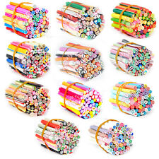 50pcs 3D Nail Art Fimo Canes Sticker Acrylic UV Nail Art Decoration tips set