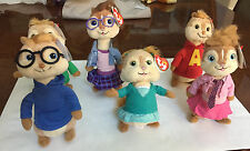 New Alvin And The Chipmunks Licensed  Beanie Babies collection by TY