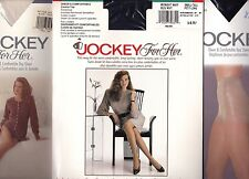 Vtg 90s NIP Jockey For Her Pantyhose Control Top Sandalfoot Variations Colour Sz