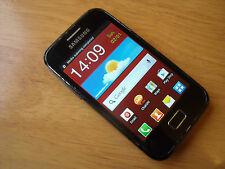 Samsung Galaxy Ace Plus GT-S7500 - 3GB Black Android Smartphone Virgin Free P&P