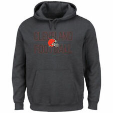 Cleveland Browns Majestic Kick Return Pullover Hoodie - Charcoal - NFL