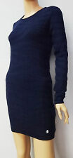"""FINAL SALE"" Roberto Cavalli dark blue KNIT mini dress/tunic  sz S,M,L,XL"