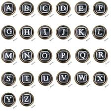Retro Cabinet Door Drawer Bin Wardrobe Handle Pull Knob Hardware Letter A-Z