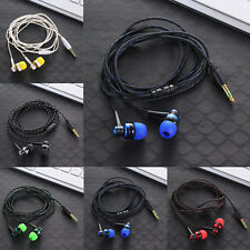 Fashion 3.5mm Stereo In-Ear Earphone Headphone Headset Earbuds For iPhone iPod