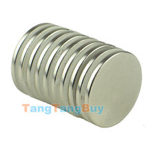 Lot Super Strong 25 mm x 2 mm Round Disc Magnets Rare Earth Neodymium Magnet N35