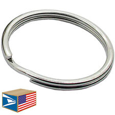 100 LOT HEAVY DUTY SPLIT KEY RING 12mm/16mm/19mm/24mm/28mm/30mm/32mm/38mm/43mm