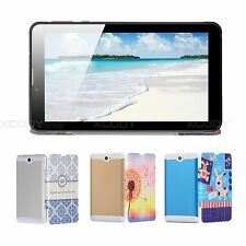 7'' inch Dual Core HD Tablet PC Android 4.4 Dual Camera WiFi 3G Phablet Dual SIM