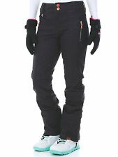 Roxy Motion Texture-True Black Torah Bright Motion Womens Snowboarding Pants