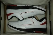 "DS NIKE AIR JORDAN 2 RETRO II LOW ""CHICAGO"" 832819-101 Size 10"