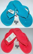 BILLABONG NEW Ladies Flip Flops Thongs Sandals KICKBACK MALDIVES GRANITA Logo