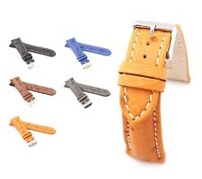 BOB Genuine Ostrich Watch Band for Breitling, 18-24 mm, 5 colors, new!