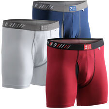 2Undr Mens Folds Of Honor Tri-Pack Boxer Brief