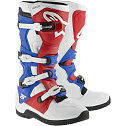 ALPINESTARS TECH 5 MOTOCROSS ATV DIRTBIKE MX BOOTS WHITE/RED/BLUE MENS SIZE
